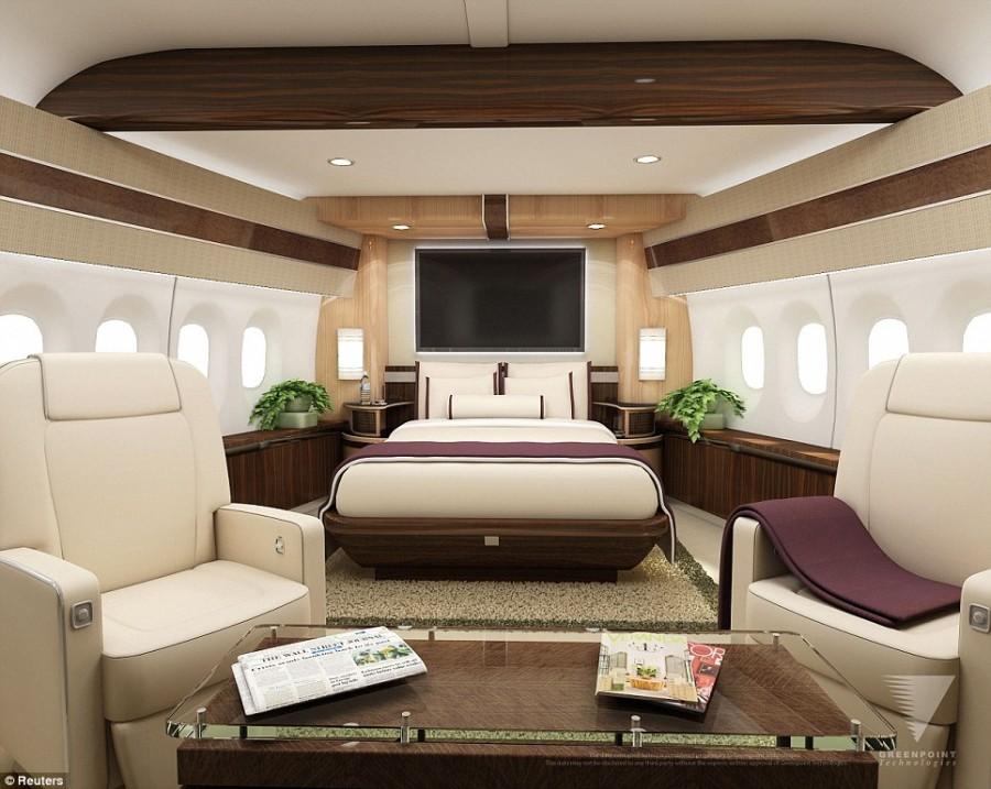 طائرة عملاقه بوينغ للأغنياء