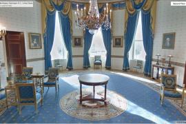 صور : يمكنك التجول داخل البيت الأبيض .. مع خرائط قوقل