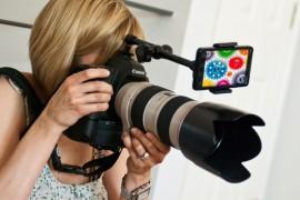 قطعة لتجعل الأطفال والحيوانات يشاهدون الكاميرة أثناء تصويرهم !