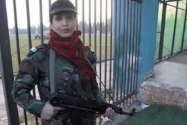سوريا : أول وحدة نسائية في قوات الأسد