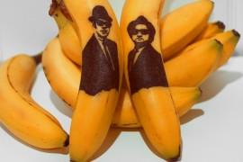 فن : فلبينية ترسم على قشرة الموز بالإبرة !