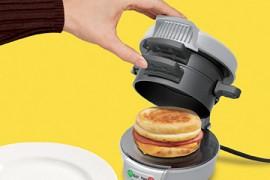 جهاز يصنع ساندويش الفطور بطريقة المطاعم .. في 5 دقائق فقط !