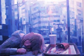 صور : فنان ياباني يرسم لوحات ثلاثية الأبعاد أكثر من رائعة