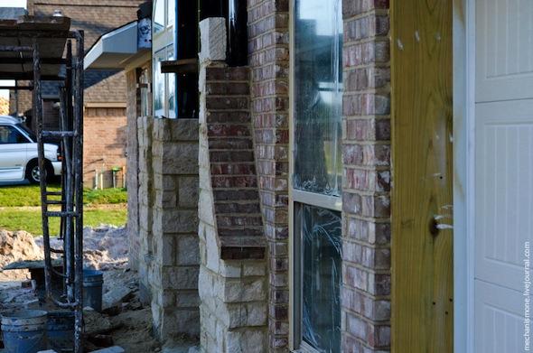 بالصور مراحل بناء المنازل في أمريكا البيان
