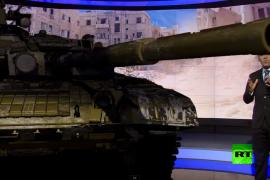 """فيديو : قناة """" روسيا اليوم """" تطلق تقنية ثلاثية الأبعاد لنشرات الأخبار"""