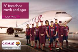 الخطوط الجوية القطرية توفر عروض لحضور مباريات برشلونة