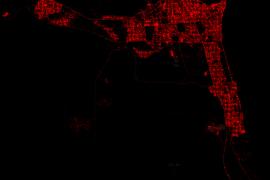 شاهد أماكن مستخدمي الايفون والاندرويد وبلاكبيري على الخريطة