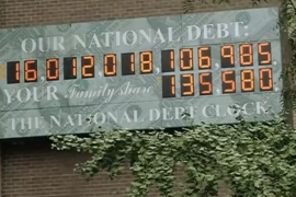 """فيديو : امريكا أكبر دولة """" مديونة """" في التاريخ !"""