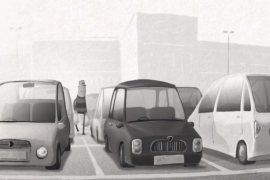 فيلم كارتوني قصير ومضحك : مواقف السيارات