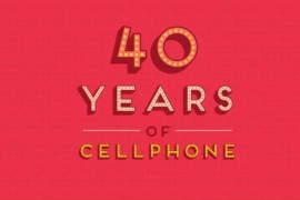فيديو : تاريخ الهواتف النقالة خلال 40 عام في أقل من دقيقة ونصف