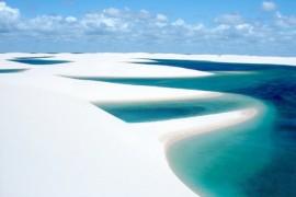 صور : صحراء مليئة بالواحات البحرية .. من غرائب الطبيعة في البرازيل