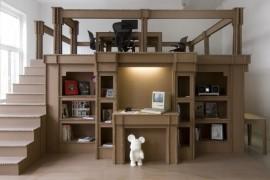 صور : مبنى مكتب متكامل من الكرتون في امستردام !